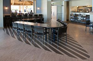 Rybovich , Crew Lounge, Cafe & Fitness Center